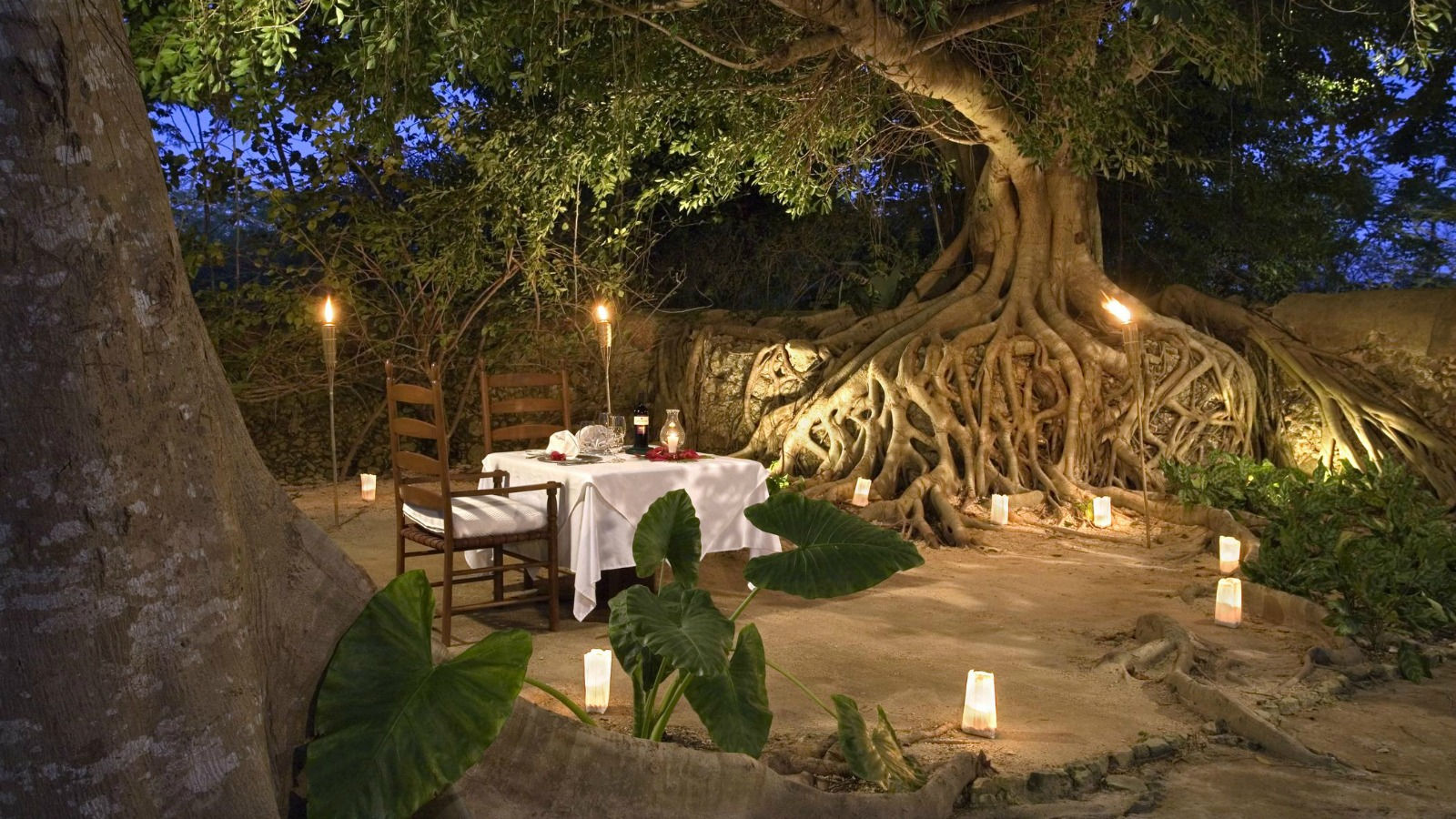 Hacienda San Jose Cholul - Romantic Dinner